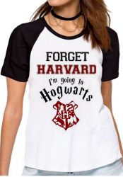 Blusa Feminina Harry Potter Harvard