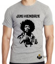 Camiseta Infantil Jimi Hendrix  Woodstock