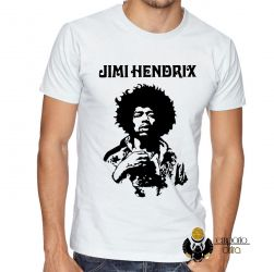 Camiseta Jimi Hendrix  Woodstock
