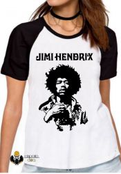 Blusa Feminina Jimi Hendrix  Woodstock