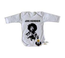 Roupa Bebê manga longa Jimi Hendrix  Woodstock