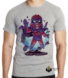 Camiseta Infantil X Men Mini Magneto