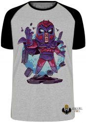 Camiseta Raglan X Men Mini Magneto