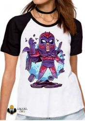 Blusa Feminina X Men Mini Magneto