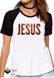Blusa Feminina Jesus madeira