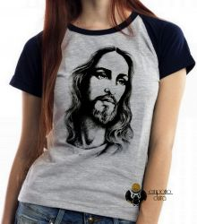 Blusa Feminina Jesus Cristo Salvador