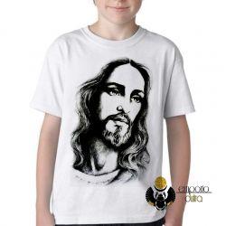Camiseta Infantil Jesus Cristo Salvador