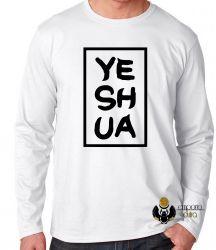 Camiseta Manga Longa Jesus Cristo Yeshua