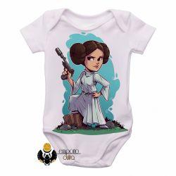Roupa  Bebê   Star Wars Mini Princesa Leia