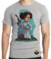 Camiseta Star Wars Mini Princesa Leia