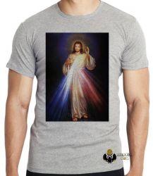Camiseta Infantil Jesus Cristo sagrado coração