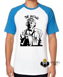 Camiseta Raglan  Sr Miyagi