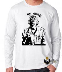 Camiseta Manga Longa  Sr Miyagi