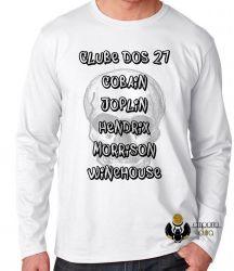 Camiseta Manga Longa Clube dos 27