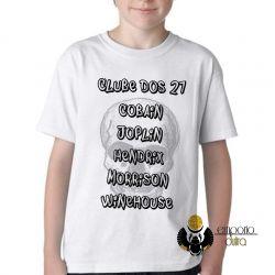 Camiseta Infantil Clube dos 27