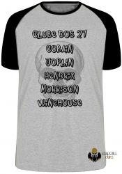 Camiseta Raglan Clube dos 27