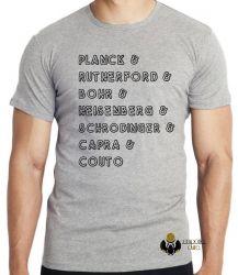 Camiseta Infantil Físicos quânticos