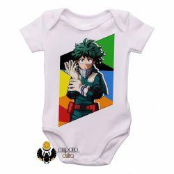 Roupa  Bebê Manga Deku midoriya