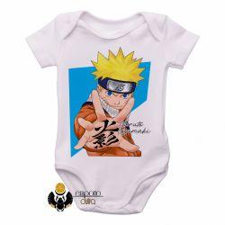 Roupa  Bebê Manga Naruto Uzumaki