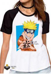 Blusa Feminina  Manga Naruto Uzumaki