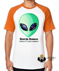 Camiseta Raglan Acorda Humano