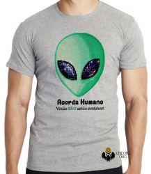 Camiseta Infantil  Acorda Humano