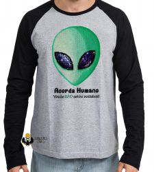 Camiseta Manga Longa  Acorda Humano