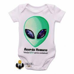 Roupa Bebê  Acorda Humano