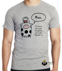Camiseta  Animais Respeite-os
