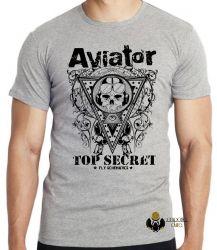 Camiseta Infantil Aviator Top Secret