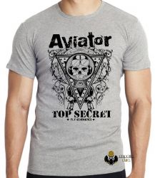 Camiseta Aviator Top Secret