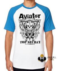 Camiseta Raglan Aviator Top Secret
