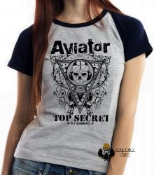 Blusa Feminina Aviator Top Secret
