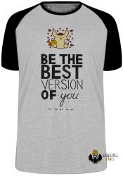 Camiseta Raglan Be the best version of you