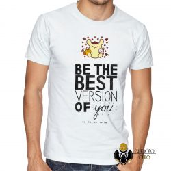 Camiseta Be the best version of you