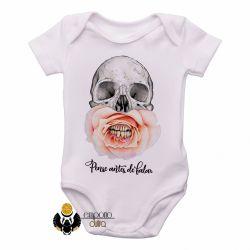 Roupa  Bebê Pense antes de falar merda