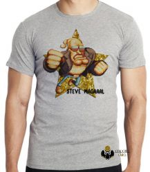 Camiseta Infantil Steve Magal