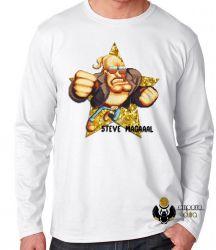 Camiseta Manga Longa Steve Magal