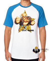 Camiseta Raglan Steve Magal