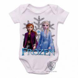 Roupa  Bebê Frozen II Anna Elsa