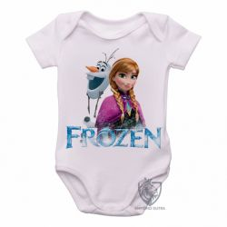 Roupa  Bebê Frozen Anna Olaf