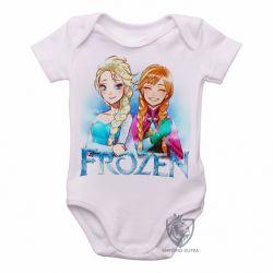 Roupa  Bebê Frozen Anna Elsa desenho