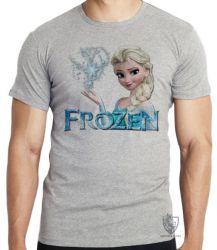 Camiseta Infantil Frozen Elsa