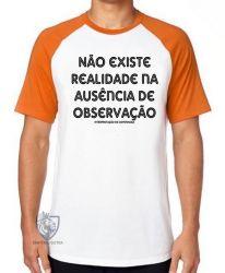 Camiseta Raglan Interpretação de Copenhaga