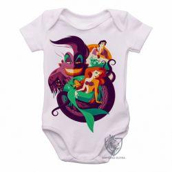 Roupa  Bebê Pequena Sereia