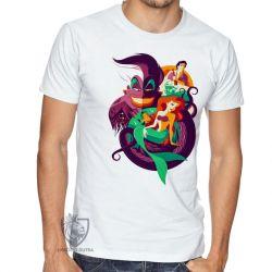 Camiseta Pequena Sereia