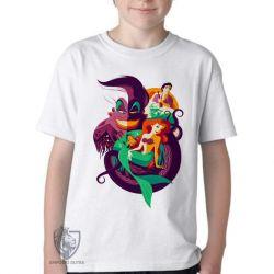 Camiseta Infantil Pequena Sereia