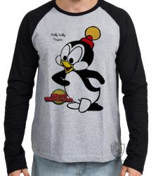Camiseta Manga Longa Pica Pau Chilly willy
