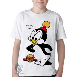 Camiseta Infantil Pica Pau Chilly willy
