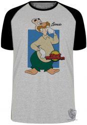 Camiseta Raglan Pica Pau Leôncio